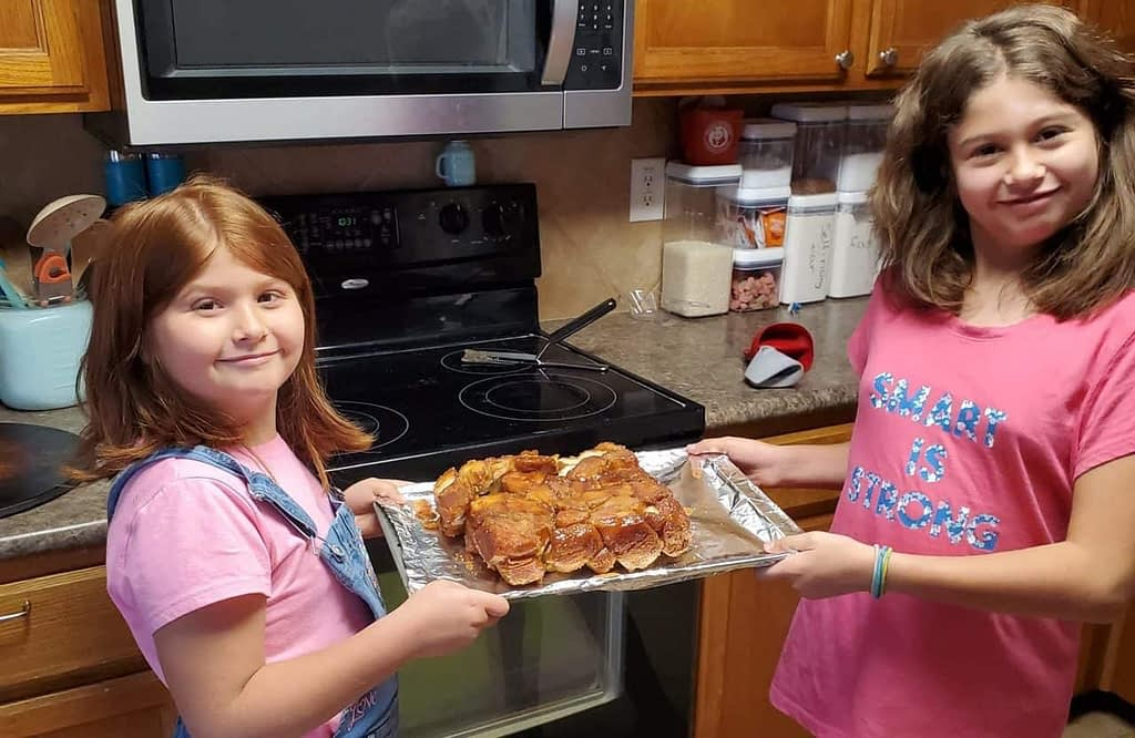 Two Monkeys and Some Bread: Making Monkey Bread