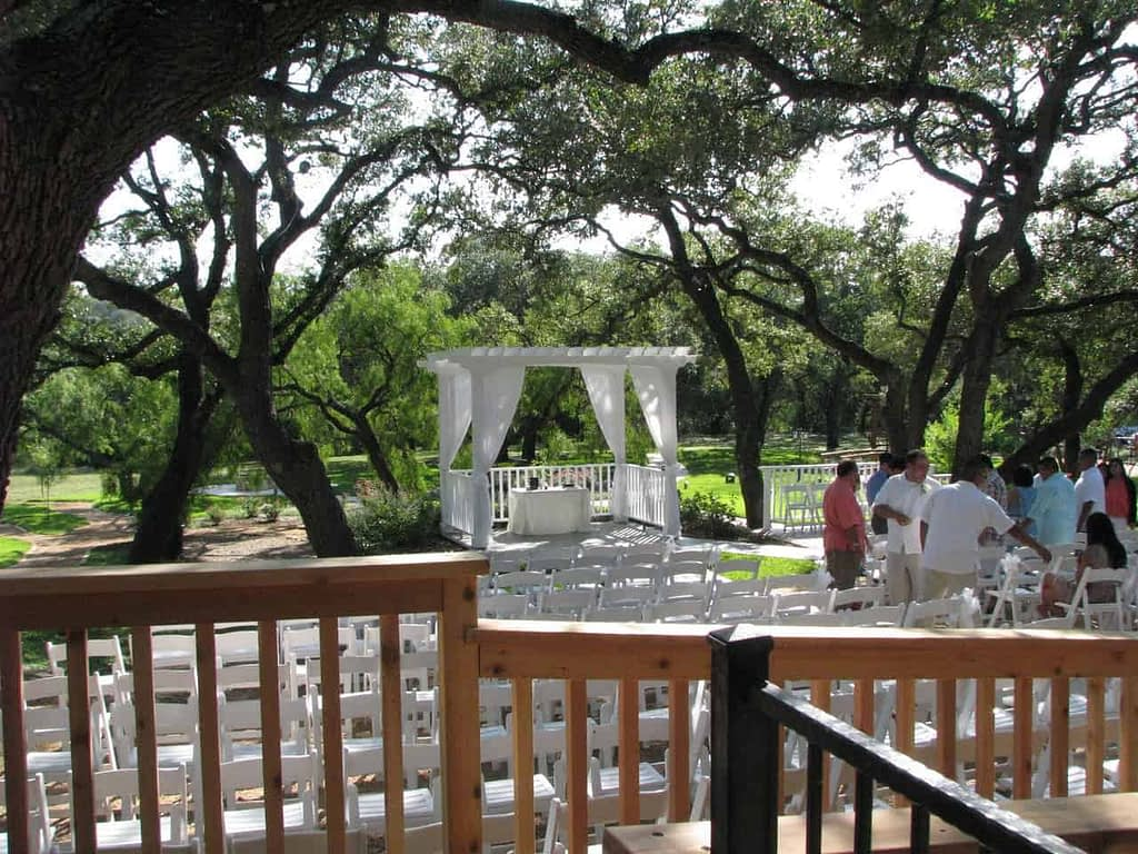 Exterior of the Gardens at Old Town Helotes