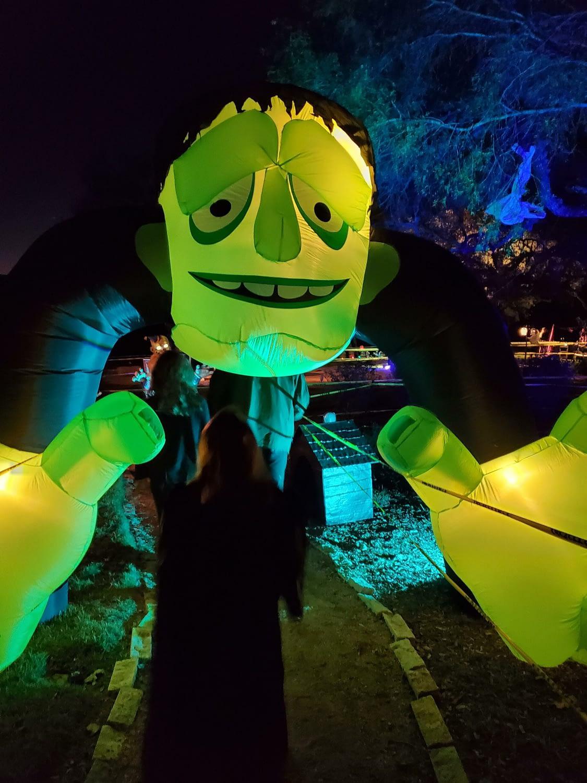 huge inflatable frankenstein