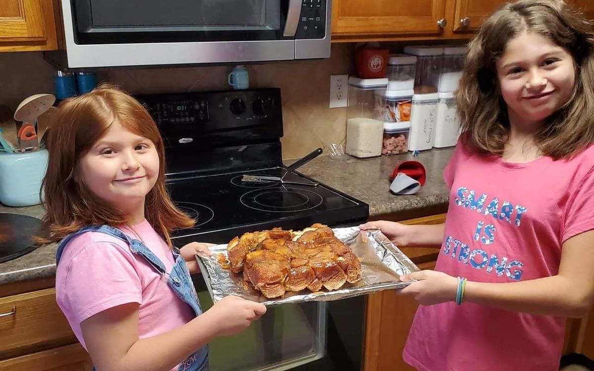 Two Monkeys and Some Bread: Making Monkey Bread
