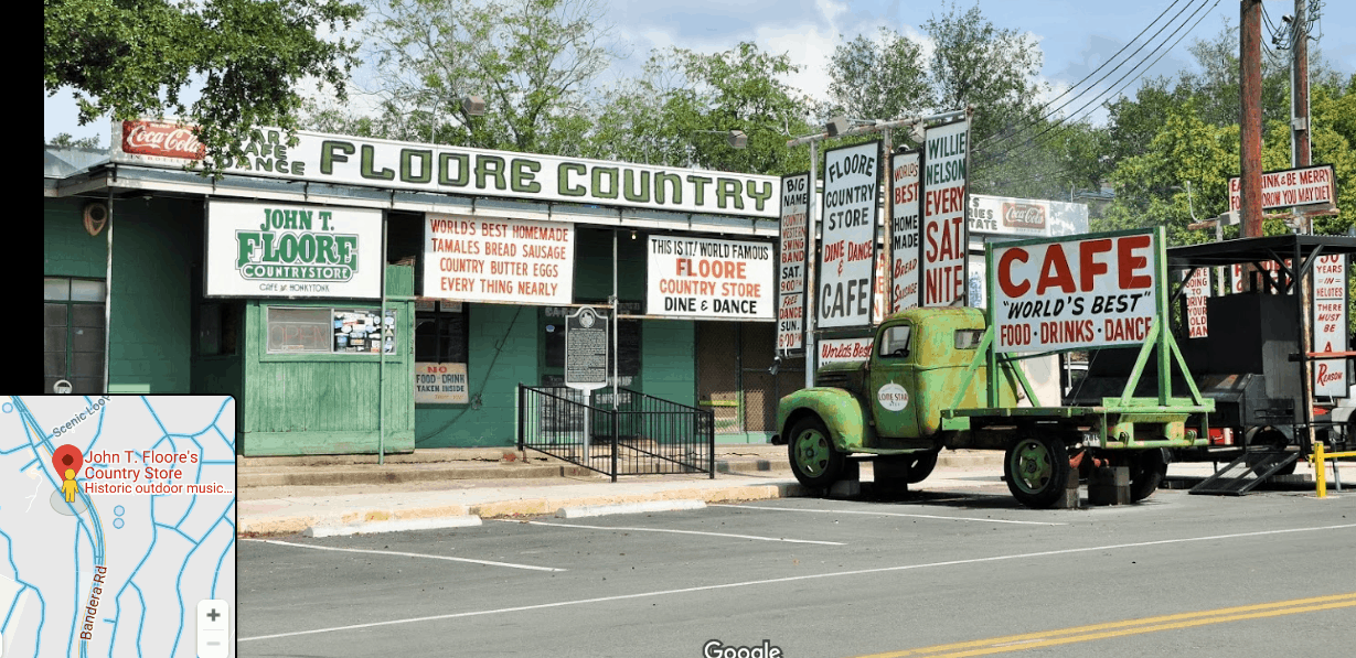 FLoores Country Store exterior