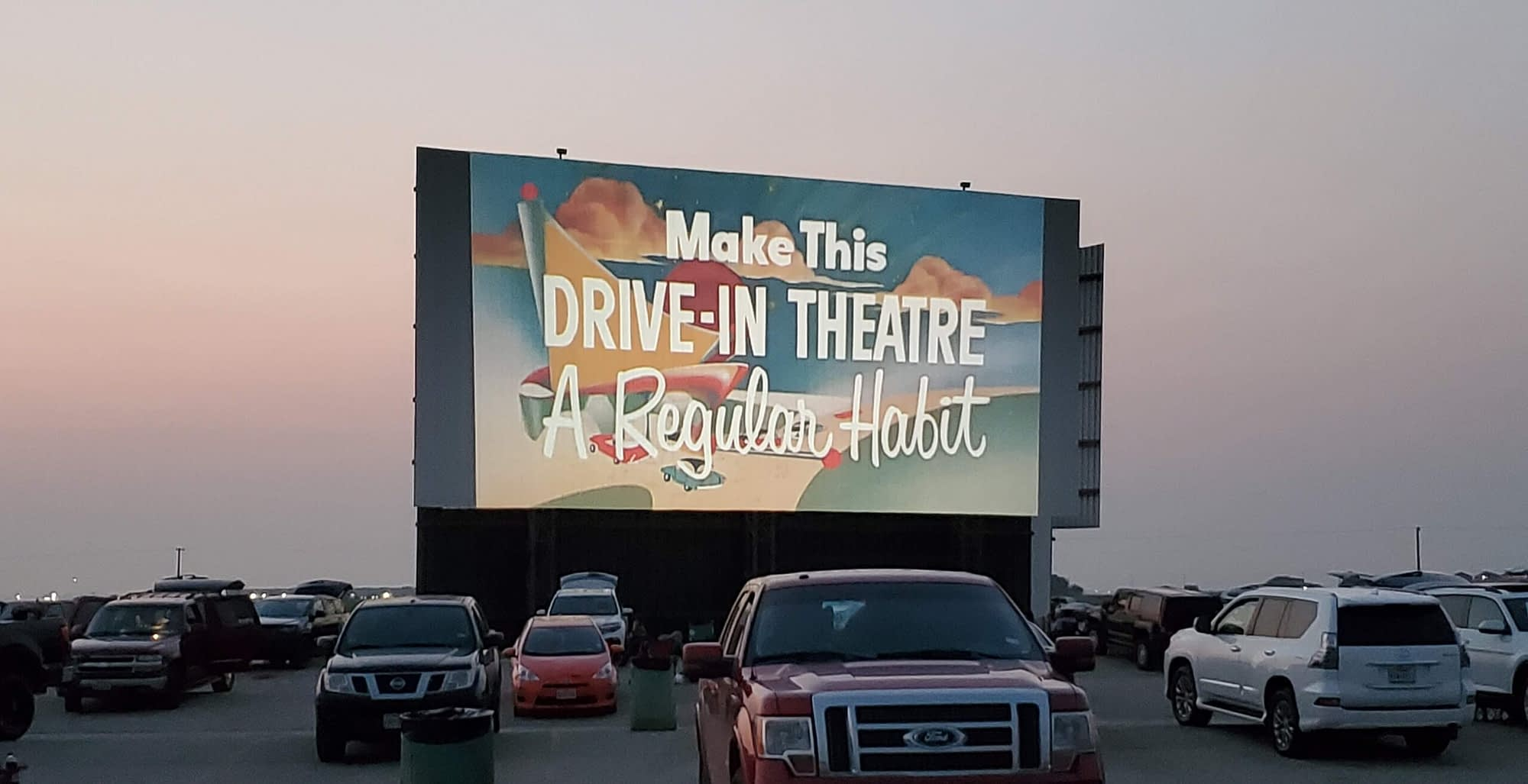 Make This Drive-In Theater a Regular Habit on the screen