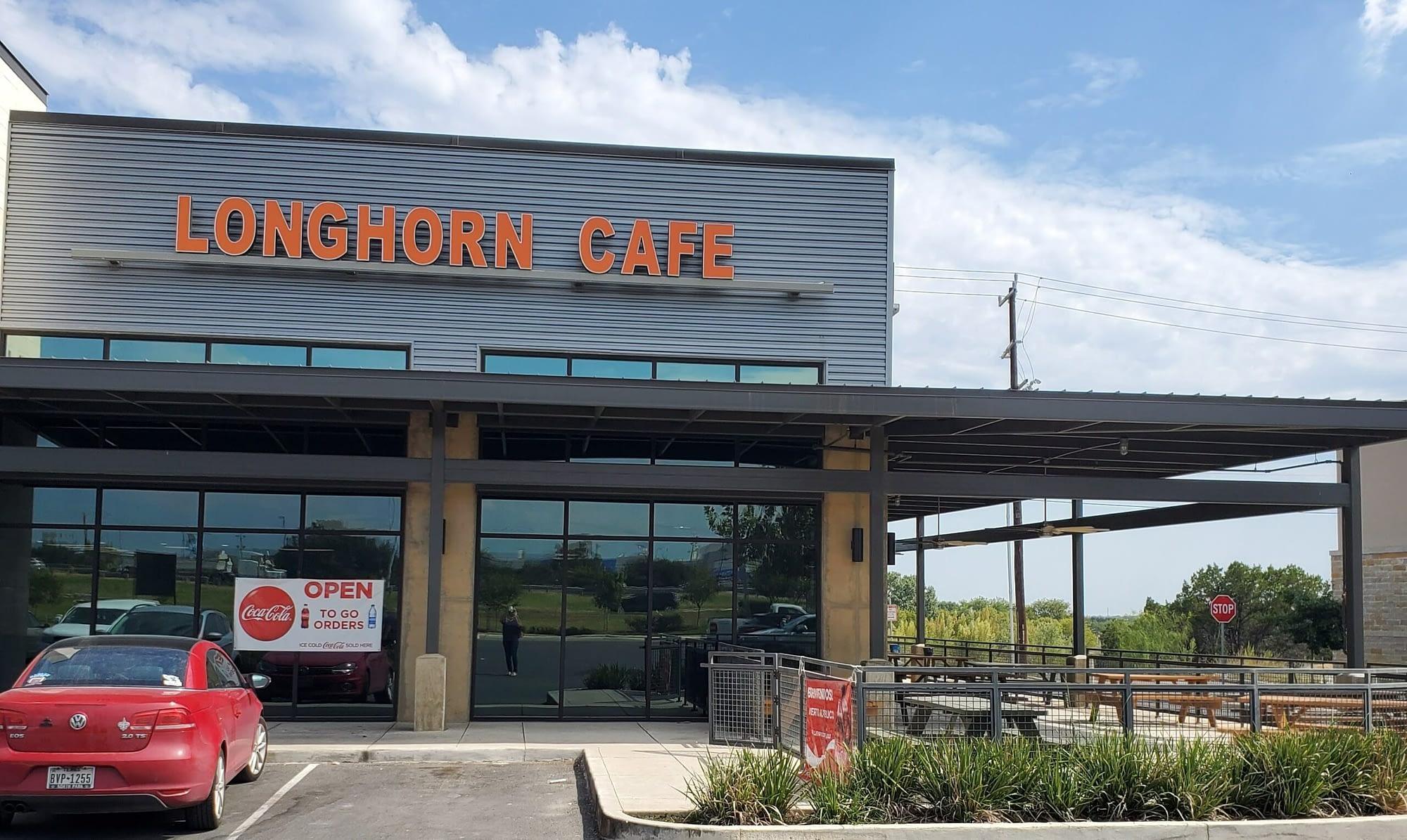 longhorn cafe exterior
